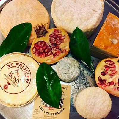 antipasto formaggi dop